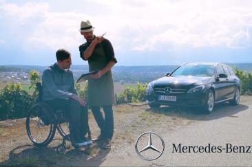 Video Mercedes-Benz Fahrhilfen ab Werk, Burkhardt Hellwig Fotograf Stuttgart
